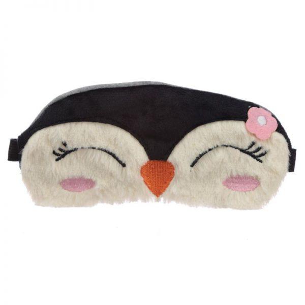 Maska do spania pingwin