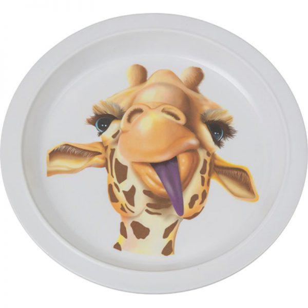Talerz żyrafa