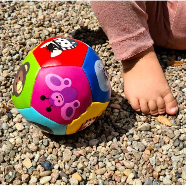 Piłka dla dzieci zwierzęta